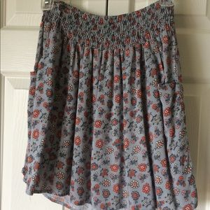 Mossimo Floral Skirt - Pockets!